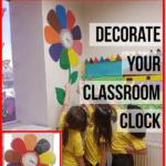 decorate your classroom clock freebie