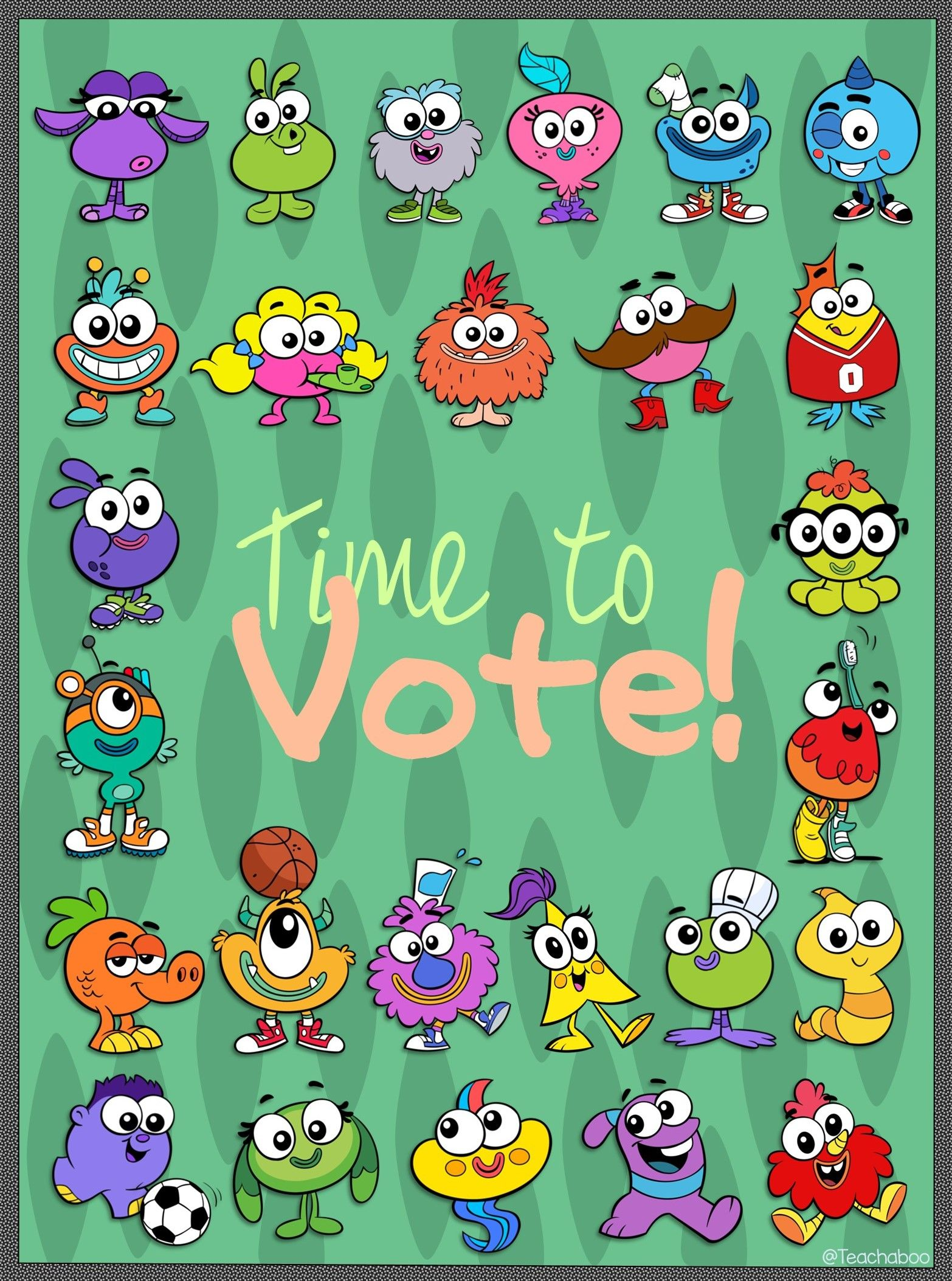 Gonoodle Time To Vote Posters With Nova Steamsteen New