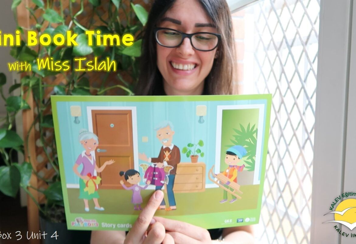 mini book story time with miss islah teachaboo