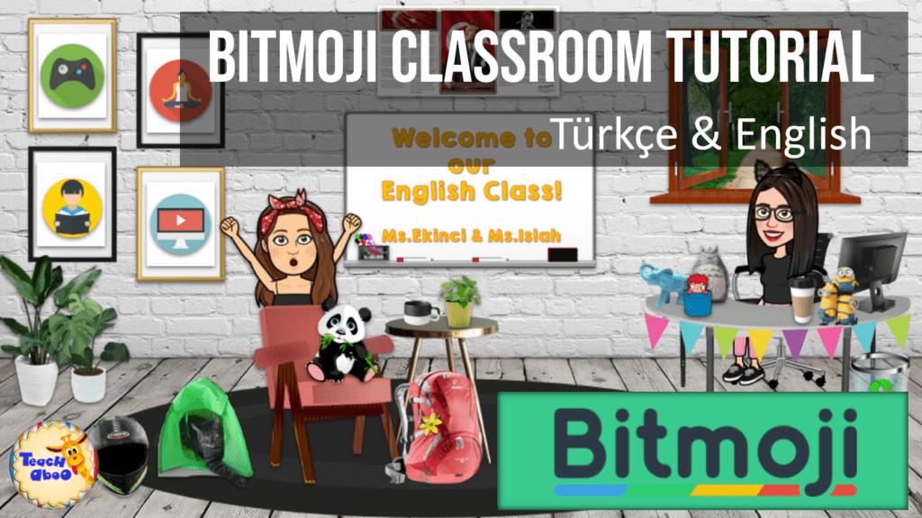 Bitmoji classroom tutorial