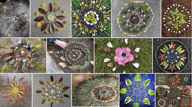 Nature Mandala Art