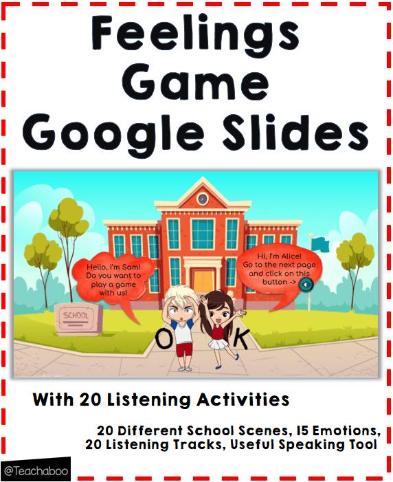 Online Feelings Game Google Slides Teachaboo